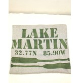 Marshes, Fields, & Hills Lake Martin sweatshirt blanket by Marshes, Fields, & Hills