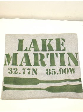 Marshes, Fields, & Hills Lake Martin sweatshirt blanket by Marshes, Fields, & Hills