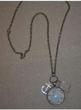 Taylor Made 3 charm necklace