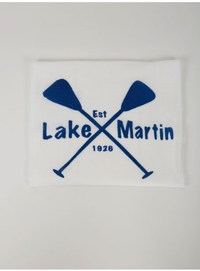 North Lake Crafted Lake Martin Tea Towel