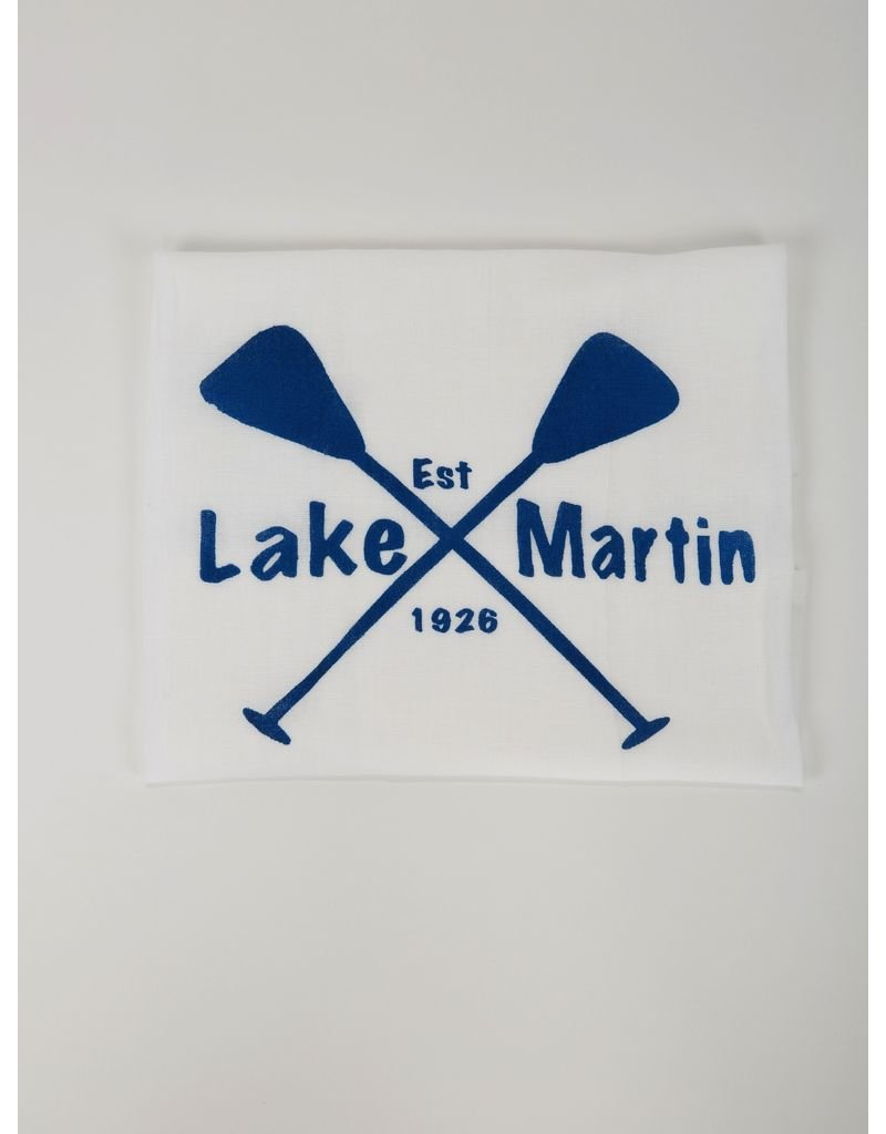 North Lake Crafted Lake Martin Tea Towel