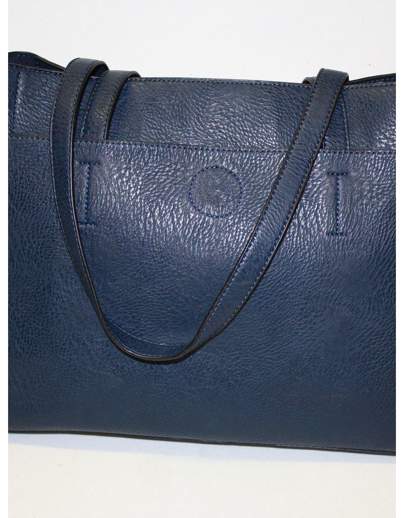 "Monica's Handbags The ""Stay Organized"" Purse - Navy"