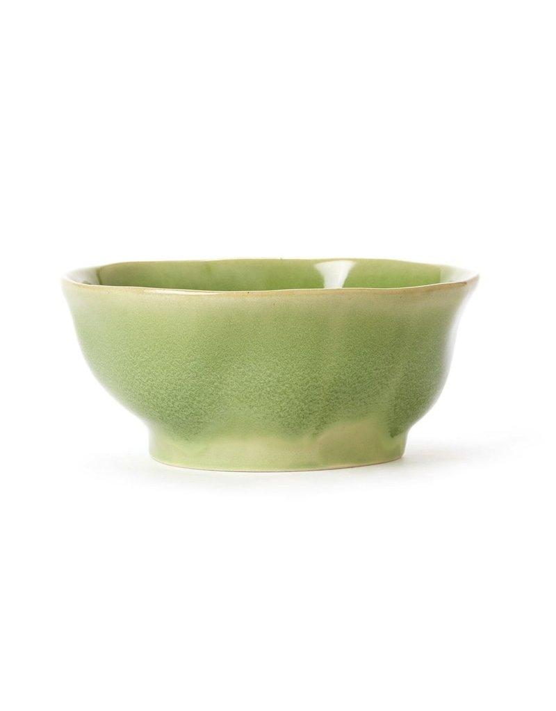 Vietri Forma Leaf med serving bowl