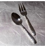 Vietri Martellato stainless flatware - serving set