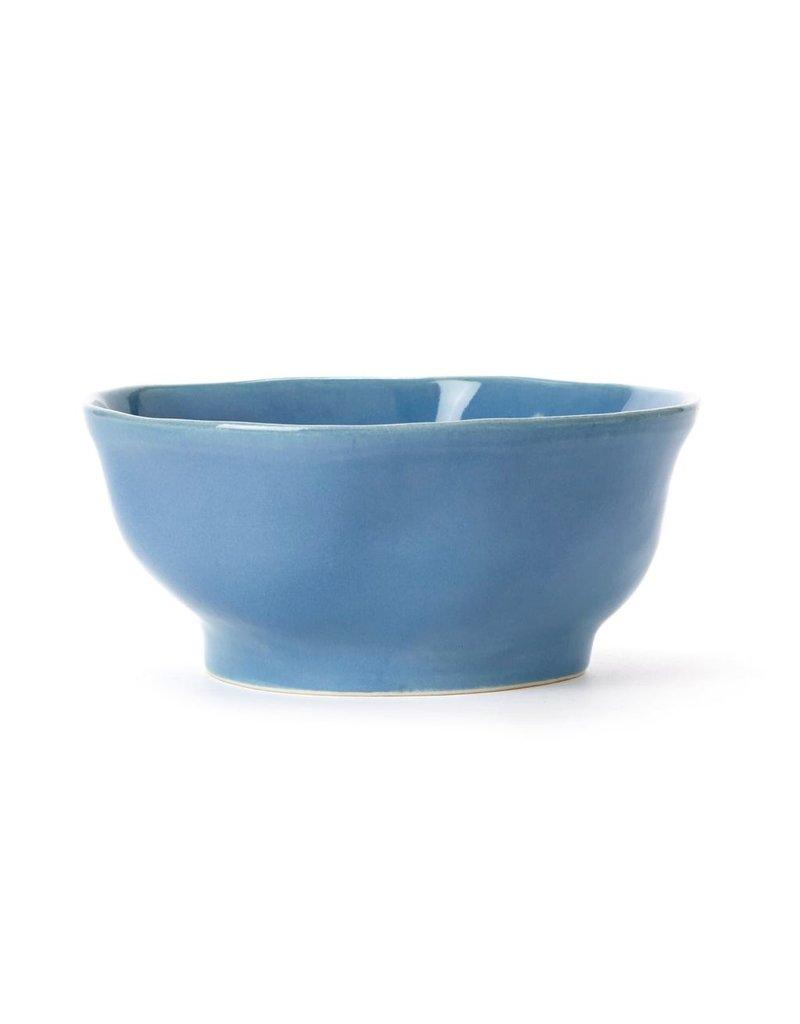 Vietri forma surf medium serving bowl