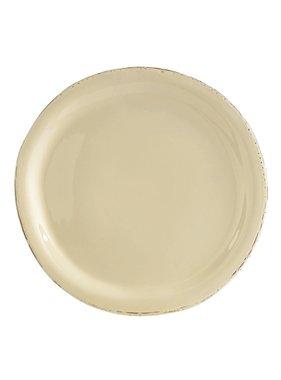 Vietri Crema Dinner Plate