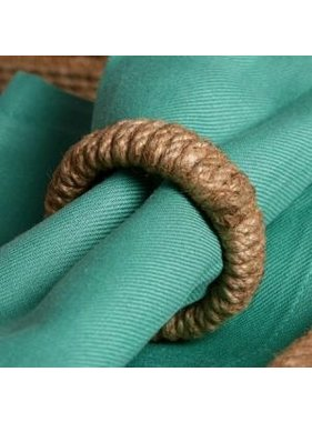 India Handicrafts Jute Napkin Ring