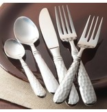 Vietri Martellato stainless flatware - 5 pc pl setting