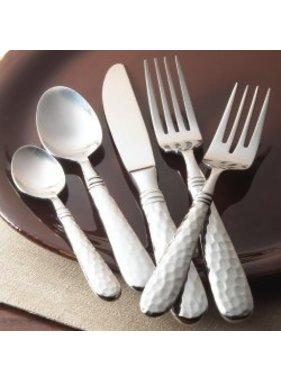 Vietri Martellato stainless flatware - 5 pc pl setting