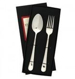 Vietri Settimocielo stainless flatware - serving set