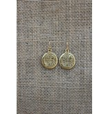 Earring Coin Gold