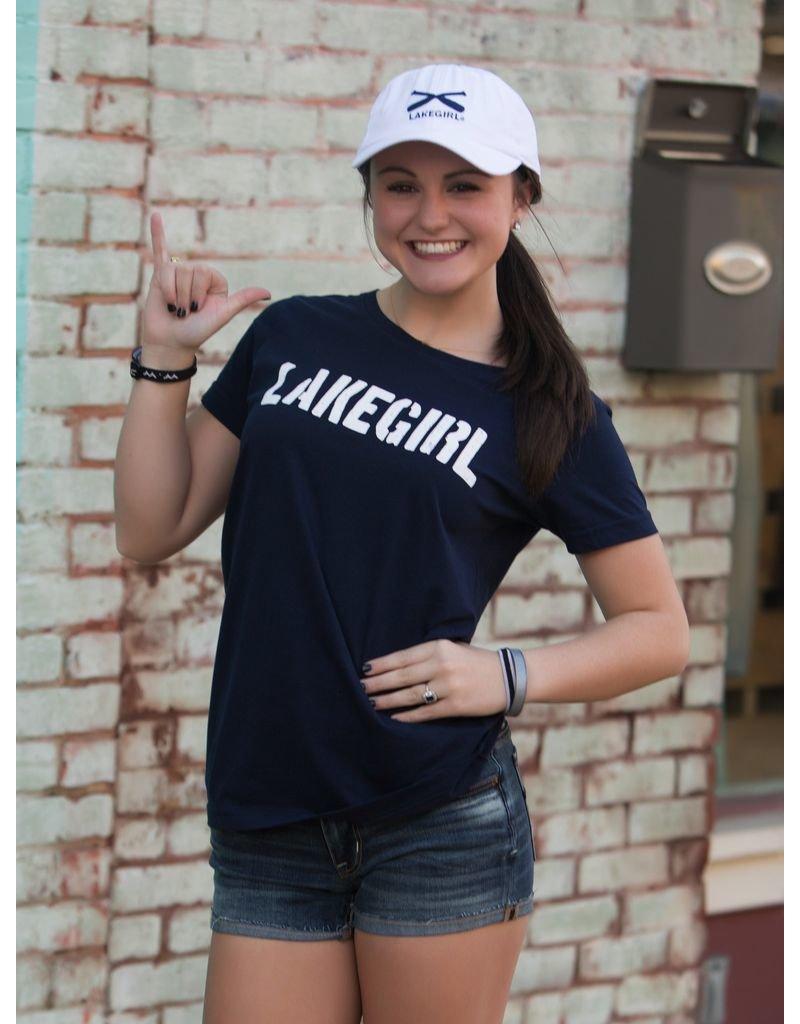 Lakegirl Simply Lakegirl Tee - navy