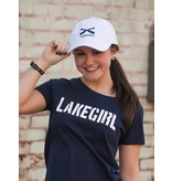 Lakegirl Simply Lakegirl Tee - navy