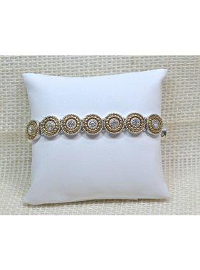 Meghan Browne Style Bracelet - Zoe Silvertone
