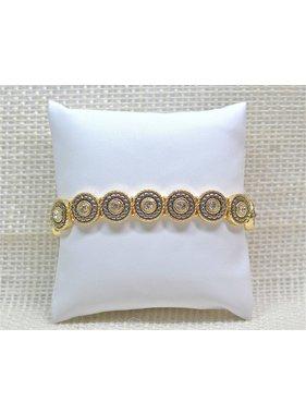 Meghan Browne Style Bracelet - Zoe Goldtone