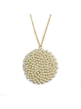 Meghan Browne Style Necklace - Frita Pearl