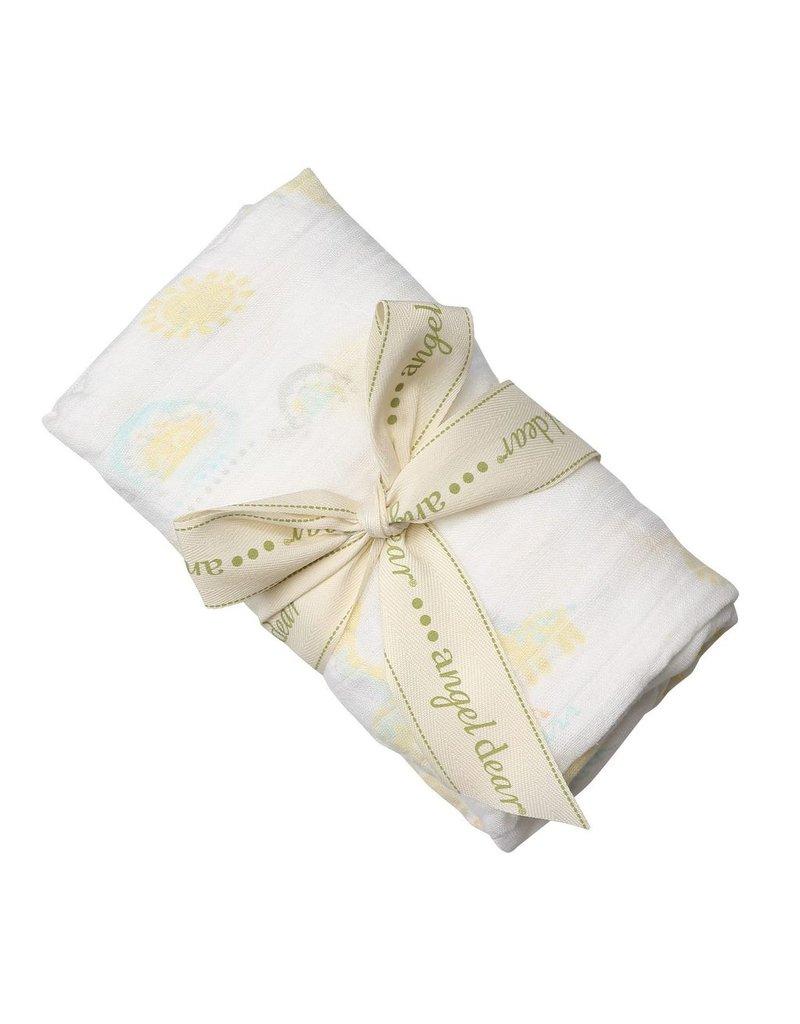 Angel Dear Bamboo Swaddle Blanket - Tribal Safari