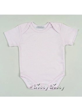 Tatiana and Co. Stripes Short Sleeve Onesie