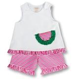 Rosalina watermelon short set