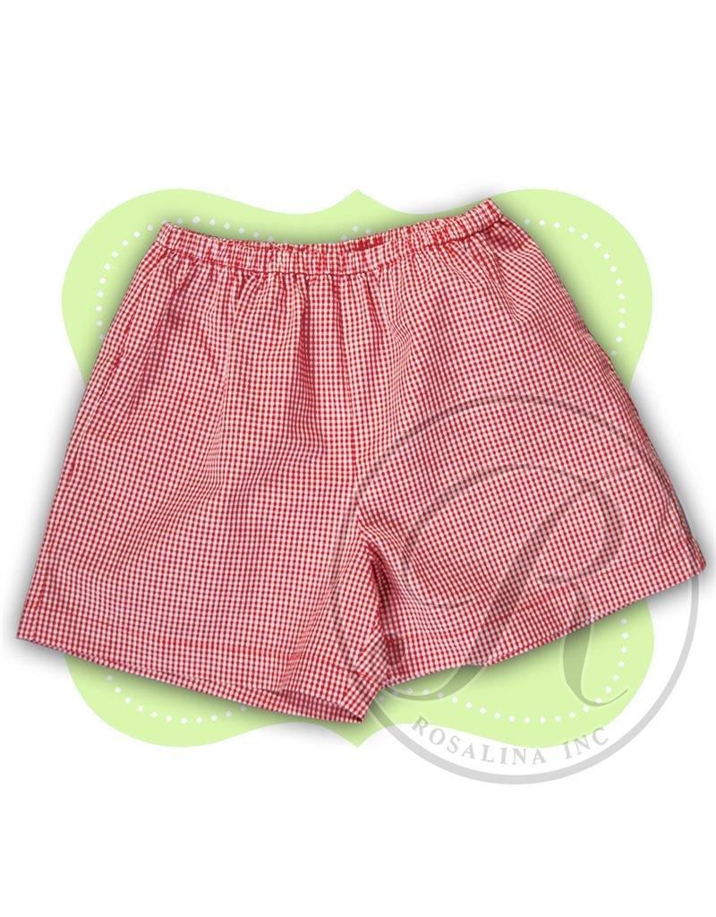 Rosalina gingham shorts