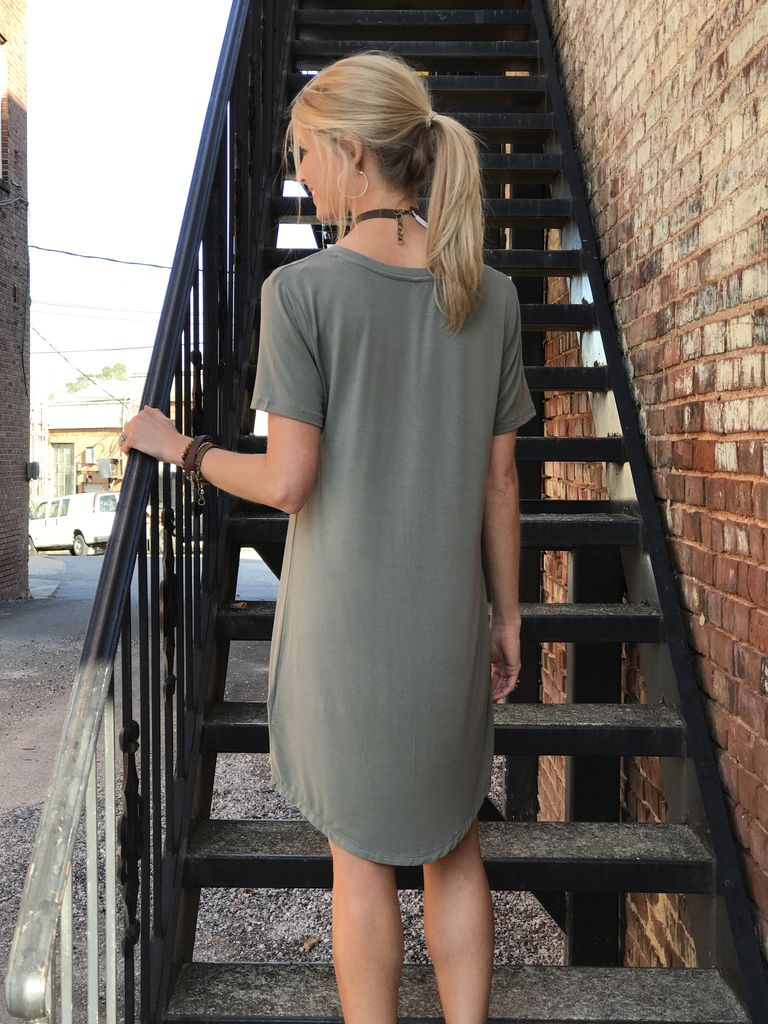 Z Supply The Pocket Tee Dress by Z Supply