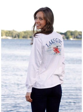Lakegirl Lake Girl Boater Long Sleeve Tee