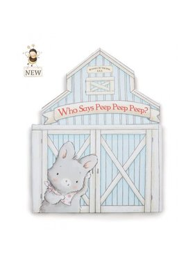 Bunnies by the Bay Who says peep peep peep? Board Book by Bunnies by the Bay