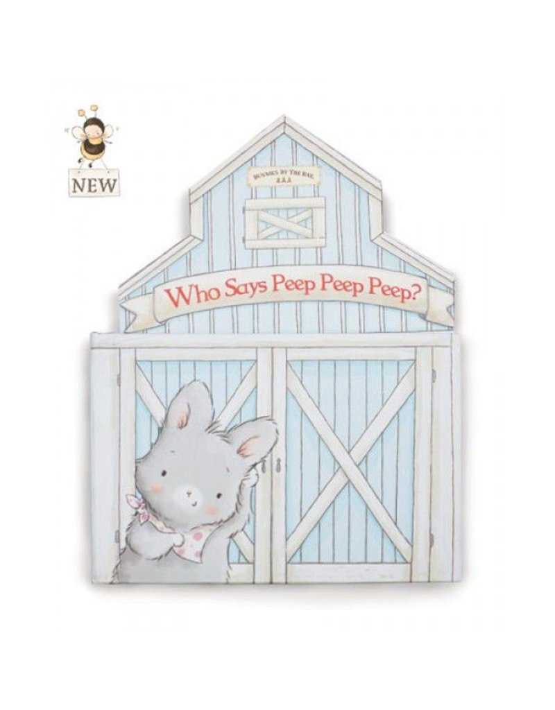 Who says peep peep peep? Board Book by Bunnies by the Bay