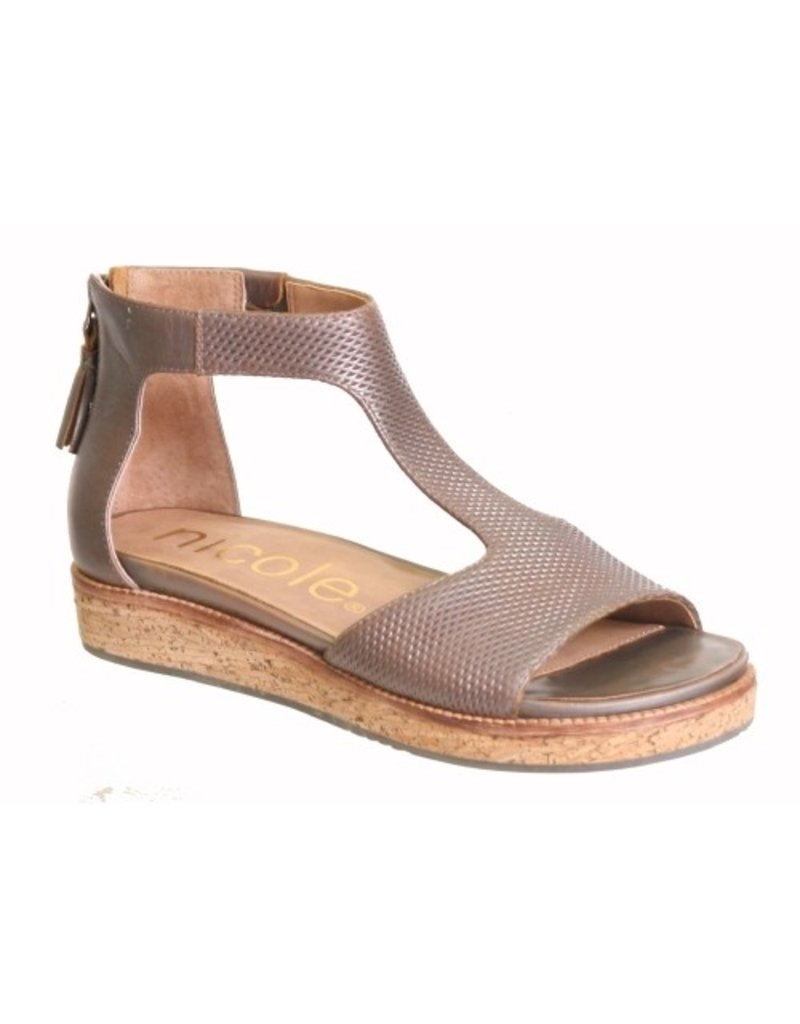 Consolidated Shoe Co. Lilou Sandal By Nicole