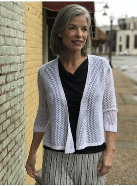 Nomadic Traders Lattice Cardi by Nomadic Traders