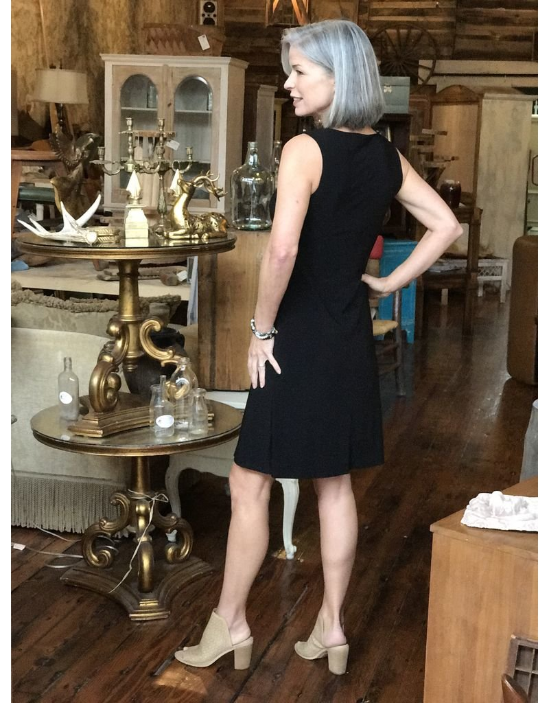 Last Tango Sleeveless Dress w/front slit