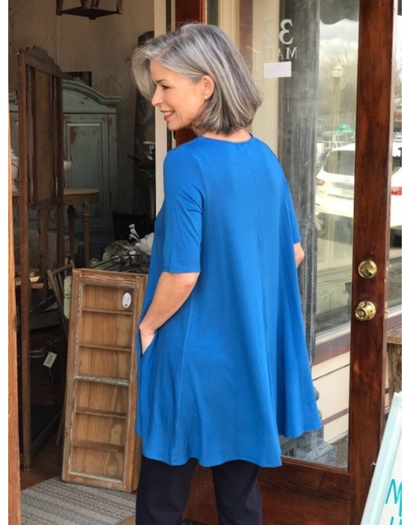 Comfy USA Elbow Sleeve Tunic by Comfy