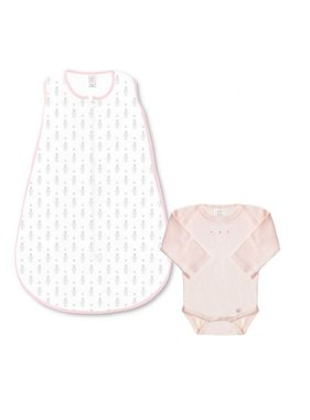 Swaddle Designs Zip me sack Tiny Bunnie