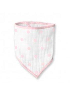 Swaddle Designs Muslin Bandana Bib- Pink