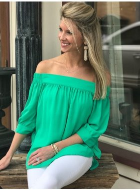Blu Pepper Green With Envy Top