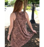 Z Supply All Tied Up Leopard Dress