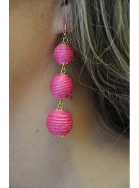 Ann Paige Designs 3 tiered globe earring