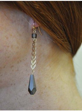 Ann Paige Designs long dangle earring