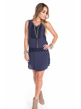 Buddy Love Wholesale lilac navy dress
