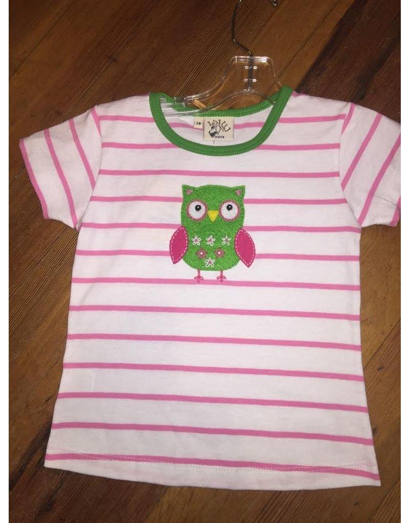 ACVISA Owl Striped shirt