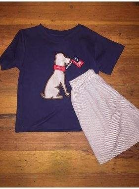Shorts and shirt set by Ada Tada