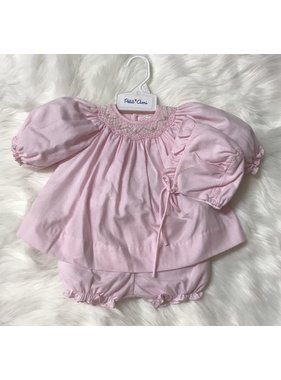 Renzo Newborn Smocked Dress