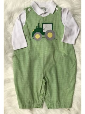 Renzo Overalls & Polo Shirt Set by Petit Ami