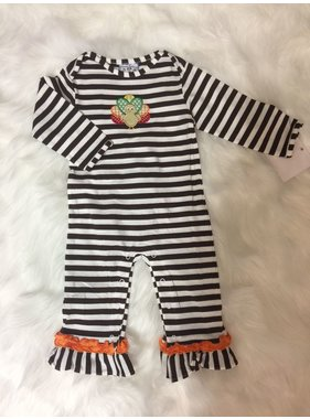 Three Sisters Thanksgiving Romper for Girls