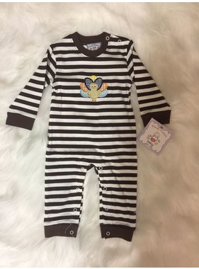 Three Sisters Thanksgiving Romper for Boys