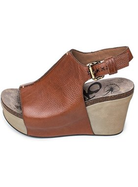 Consolidated Shoe Co. Jaunt Wedge OTBT, Mocha