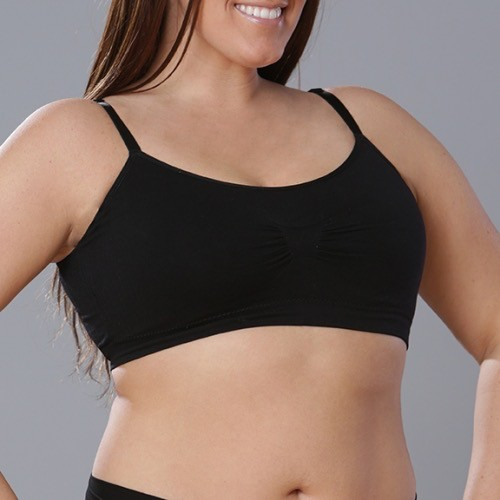 Coobie Seamless Bra with Removable Straps by Coobie