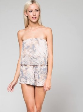 Honey Punch tupe top tie - die romper