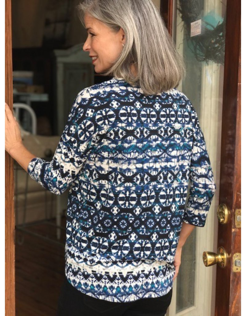 Tribal Patterned Tribal Top