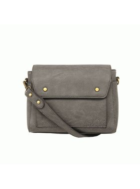 JOY Accessories Grey Taylor Satchel Crossbody
